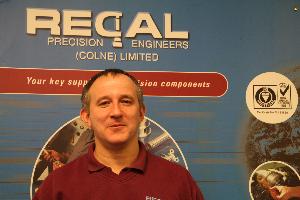 Regal Precision Engineers - Shopfloor Manager - Alan Holmes